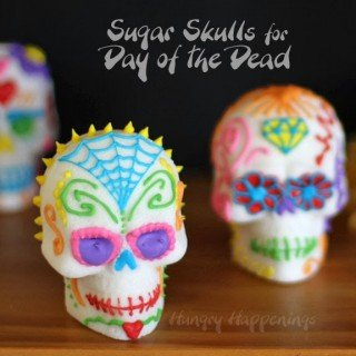 Day of the Dead Sugar Skulls (Dia de los Muertos Calavera de Azucar)