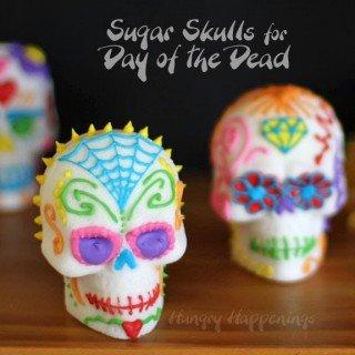 Day of the Dead Sugar Skulls (Dia de los Muertos Calavera de Azucar)