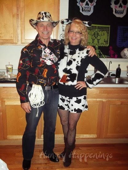 Couple costume ideas - cowboy and cow