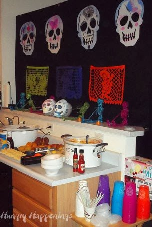 Party ideas for Day of the Dead (Dia de los Muertos)