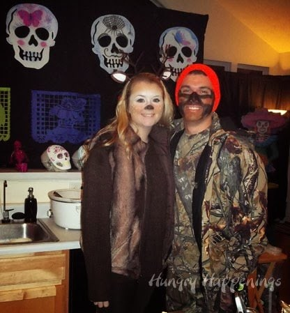 Couple costumes - Hunter and Deer