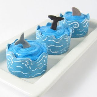Sea themed dessert