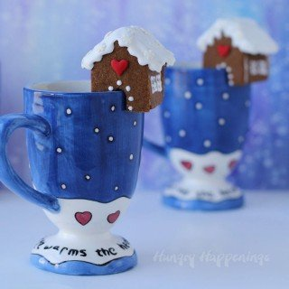 Mini Gingerbread Cookie Houses