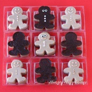 Caramel Cocoa Egg Nog Custard Gingerbread Men