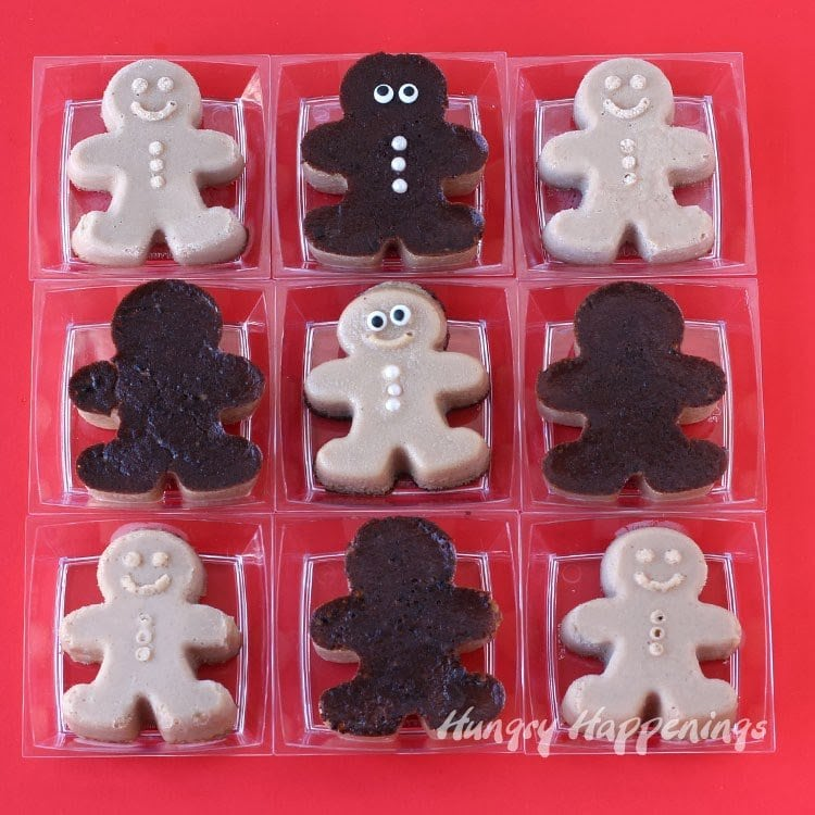 Eggnog Custard Gingerbread Men