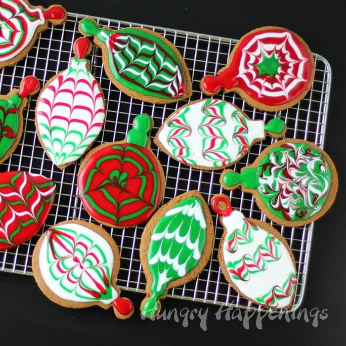Give your family a surprise when you lay these cookies on display. These Christmas Ornament Gingerbread Cookies look so real people will be wondering why they aren't on your tree.