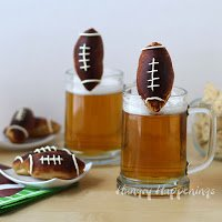 beer mug football pretzels