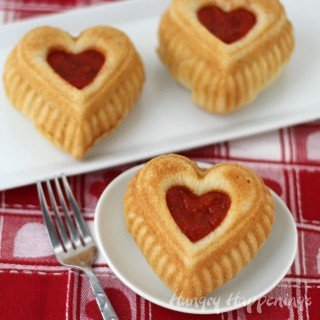 Calzone Hearts – Valentine's Day Dinner