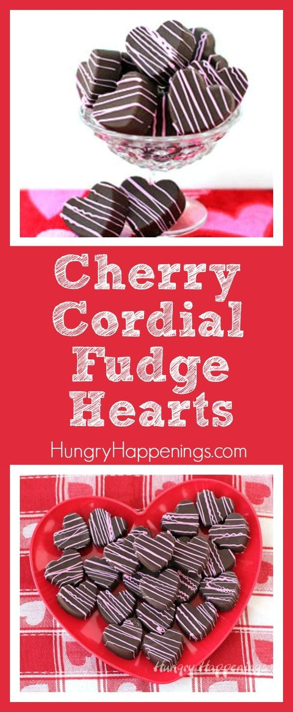 Staying on the topic of cherry cordials, I created these Cherry Cordial Fudge Hearts and I definitely don't regret it. These treats are incredibly tasty and are perfect for anybody who loves chocolate and cherries, which is everybody!