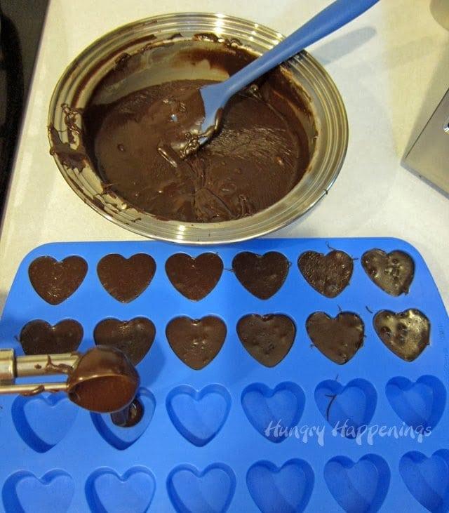 chocolate fudge hearts