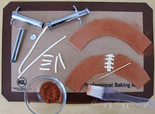 Football dessert recipe