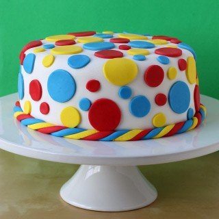How to cover and decorate a cake using fondant