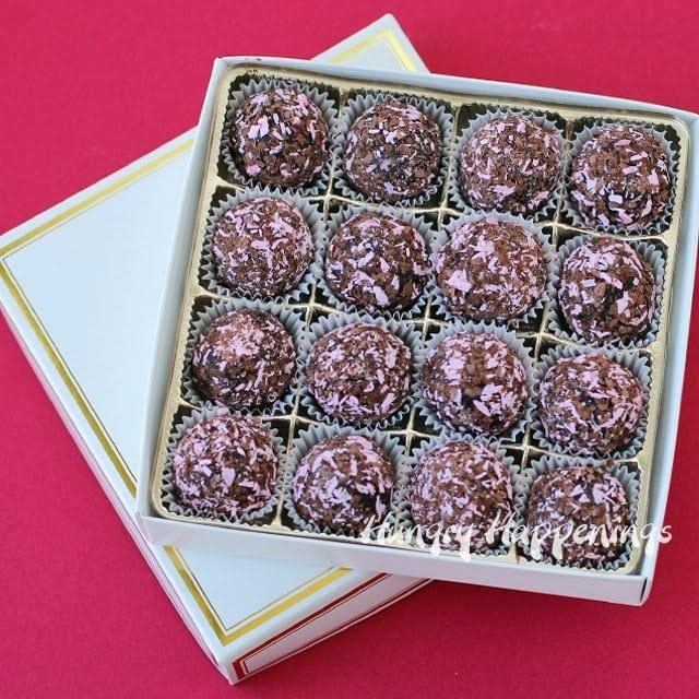 Chocolate Raspberry truffle recipe
