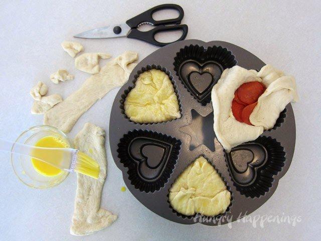 Valentine's Day dinner food