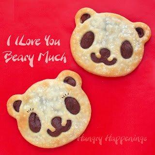 teddy bear pastries