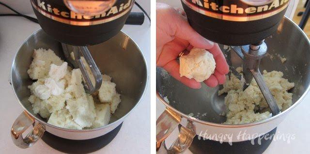 white cake balls