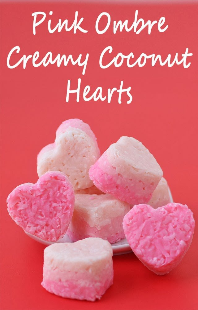 Pink Coconut Hearts