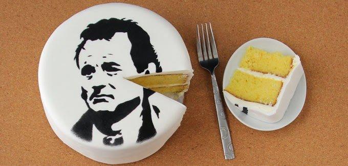 Groundhog Day Cake | HungryHappenings.com