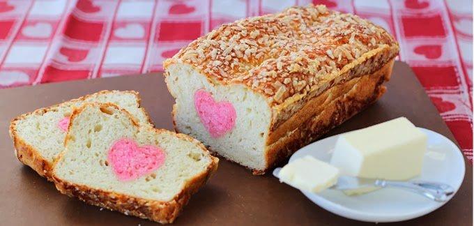 Valentine's Day bread recipe
