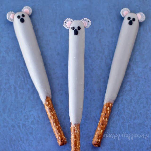 Koala Pretzel Pops | HungryHappenings.com