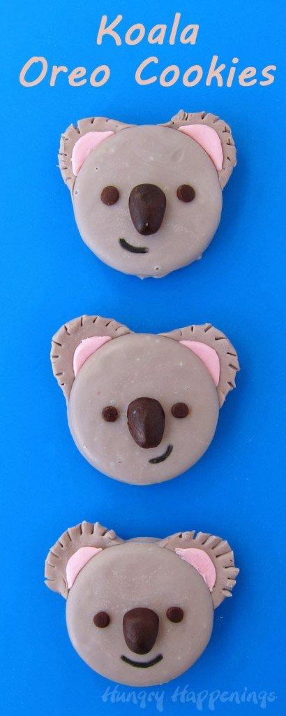 Koala Oreo Cookies | HungryHappenings.com