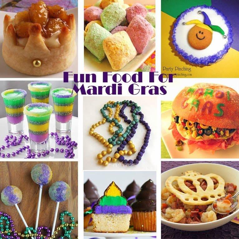 Fun Food For Mardi Gras