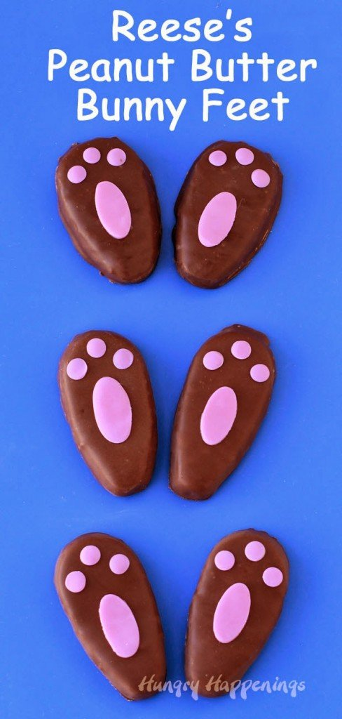 Easter bunny feet recipe