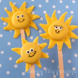 sunshine lollipops