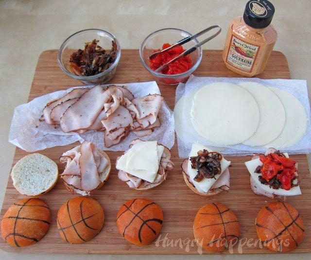 Basketball sliders recipe