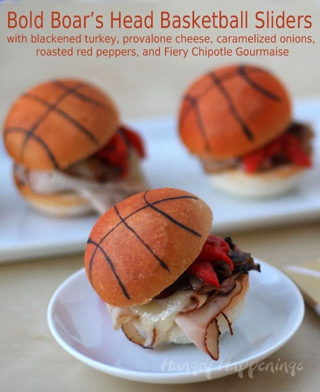 Boar's Head Basketball Sliders | HungryHappenings.com