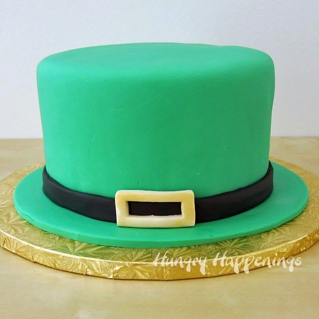 Blow away your family and friends by making this Leprechaun Hat Shamrock Surprise Cake for St. Patrick's Day! It is moist, delicious, and comes with a special surprise inside.