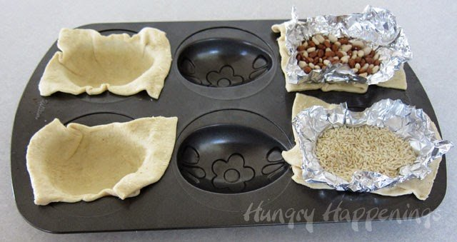 Baking Hollow 3-D Crescent Roll Easter Eggs