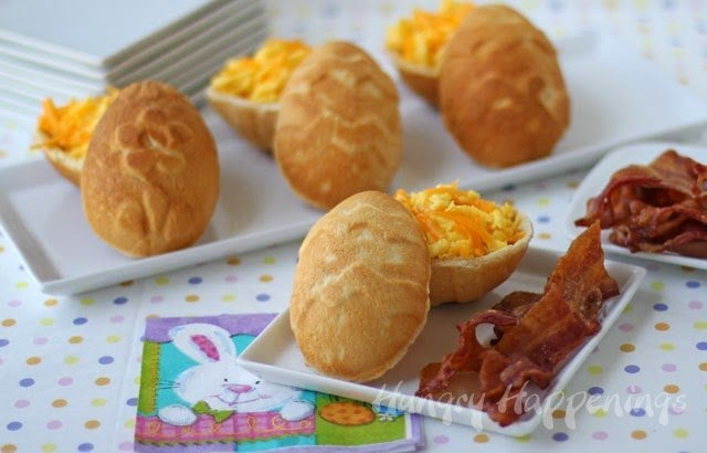 Easter Breakfast Hollow 3 D Crescent Roll Easter Eggs