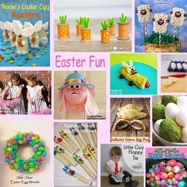 This Easter have fun creating both edible crafts and traditional crafts. These fun Easter Crafts and cute food ideas will surely brighten up your holiday.