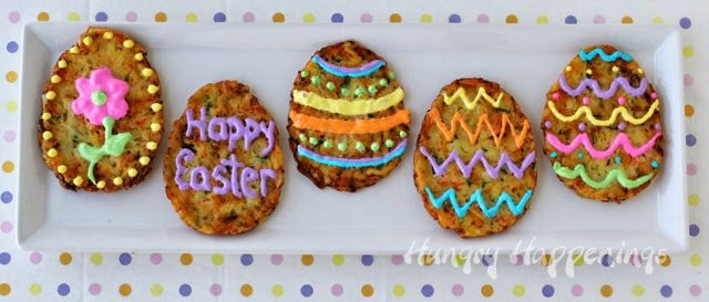 Not much is better than eating all the delicious food on Easter! I am so excited to give you A fun Easter Brunch Idea that will turn your family get together into a festive one! These Hash Brown Fritter Easter Eggs are a delicious side to compliment all of your other amazing dishes!