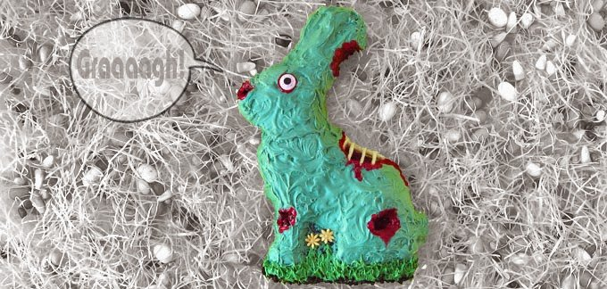 Zombie Easter Bunny recipe