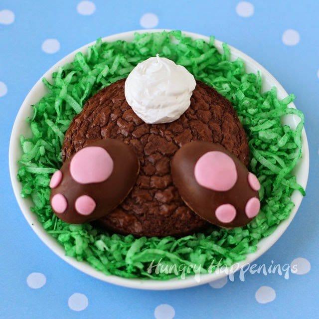 Easter brownie recipe