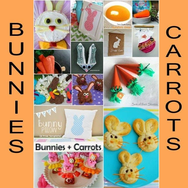 Bunny and Carrot DIY Projects