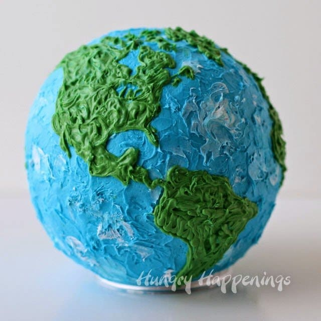 Earth Cake Filled With Candy Rocks Hungry Happenings
