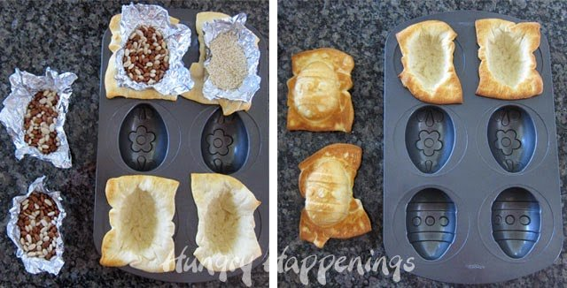 Using a Wilton Egg Pan to make Crescent Roll Easter Eggs