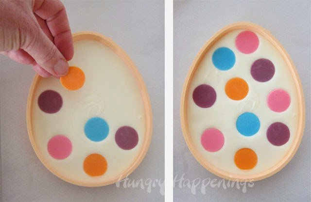 Looking for an easy yet amazingly delicious candy recipe? Try making these Polka Dot Easter Eggs, they are the perfect treat for your Easter Baskets! And they are so much fun for your kids to personalize with their favorite colors!