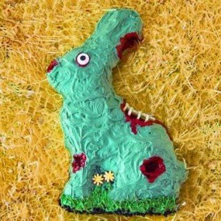 Zombie Easter Bunny Cake for Tablespoon.com