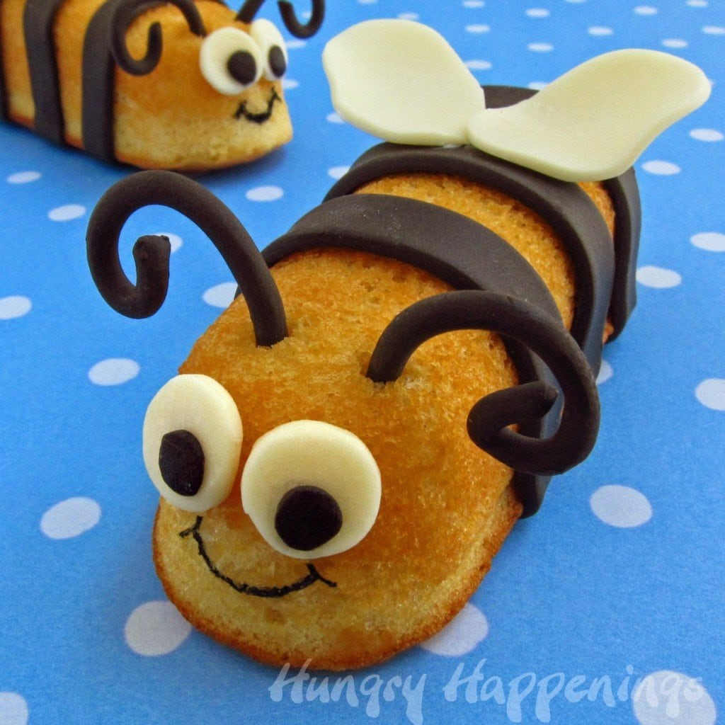 Twinkie Bumble Bees - Snack Cake Stingers