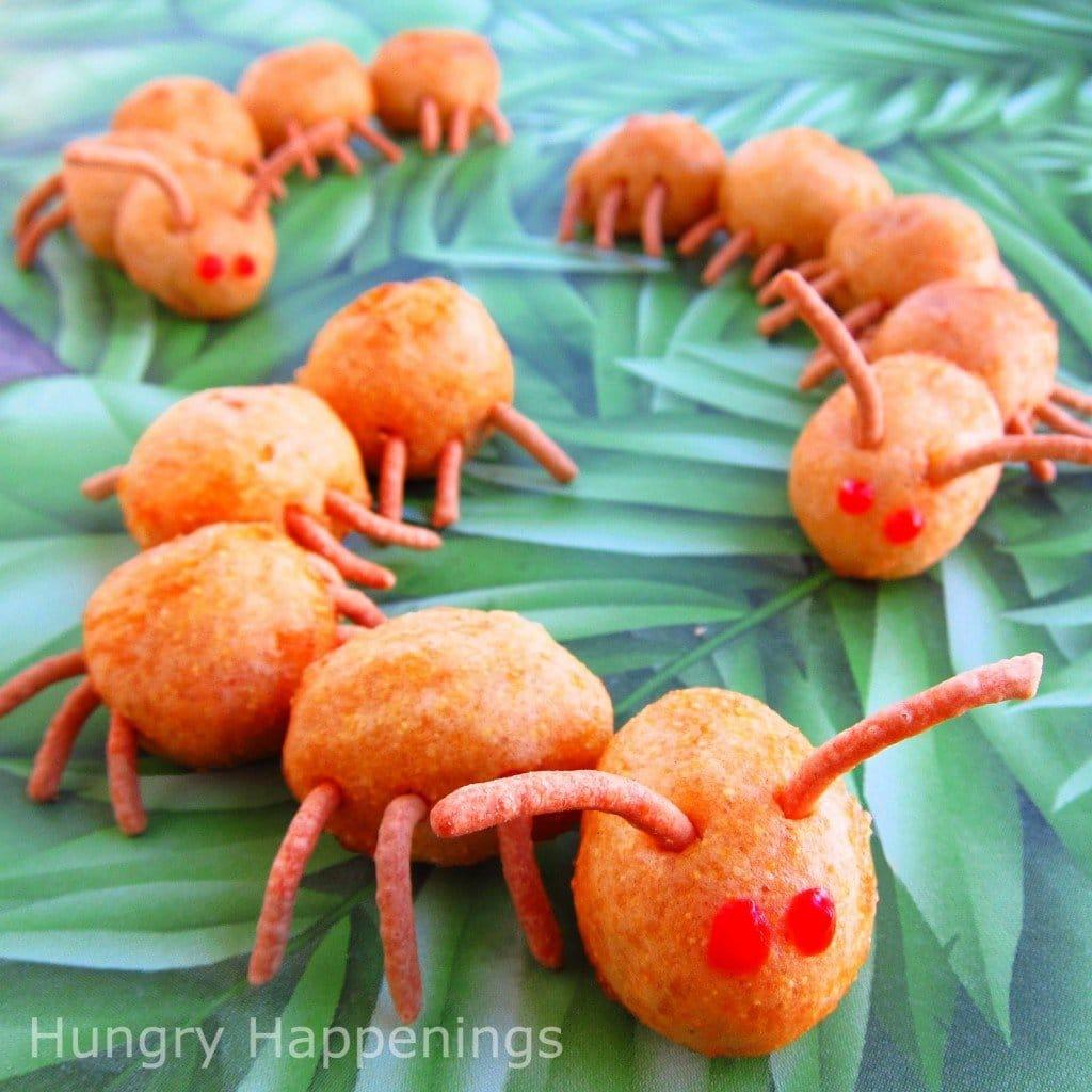 Corn Dog Caterpillars