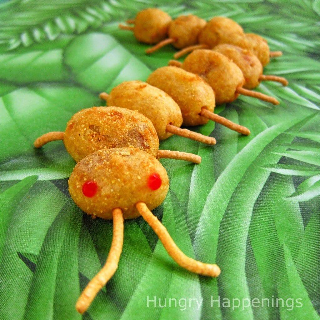 Corn Dog Centipede