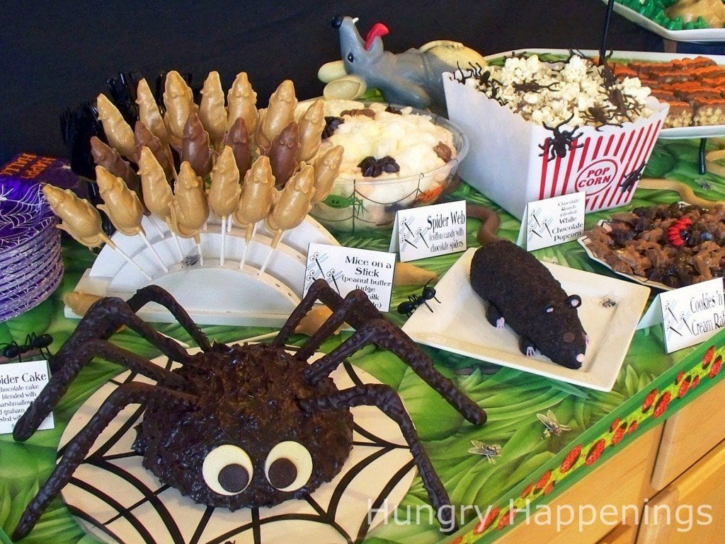 Carnival of the Creepy Crawlers Party Food | HungryHappenings.com