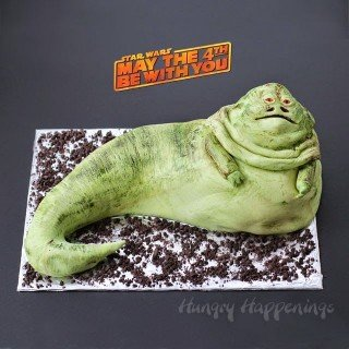 May the 4th Be With You – Jabba the Hutt Cake
