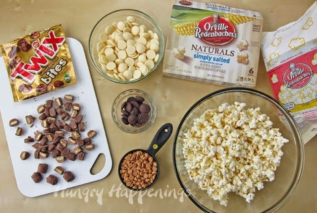 popcorn recipe ingredients