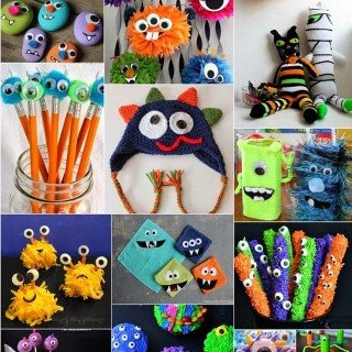DIY Monster Treats and Crafts – Monday Block Party