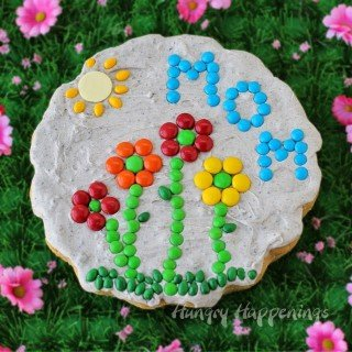 Sugar Cookie Garden Stone for Mother's Day